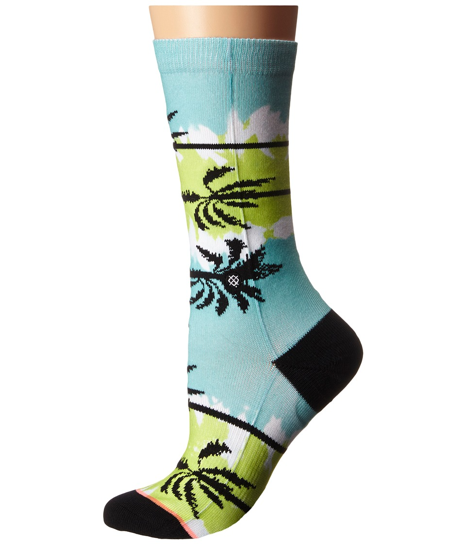 Stance - Venice (Lime) Women's Crew Cut Socks Shoes