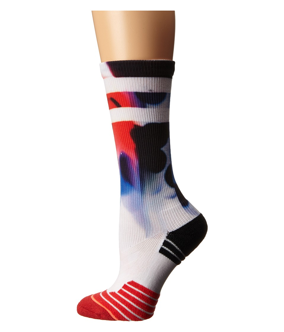 Stance - Powerhouse Crew (Red) Women's Crew Cut Socks Shoes
