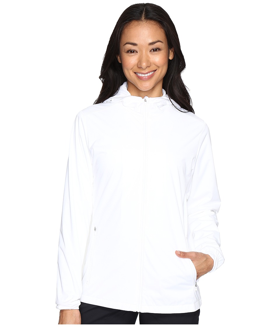 Nike Golf - Shield Wind Jacket (White/Black) Women's Coat