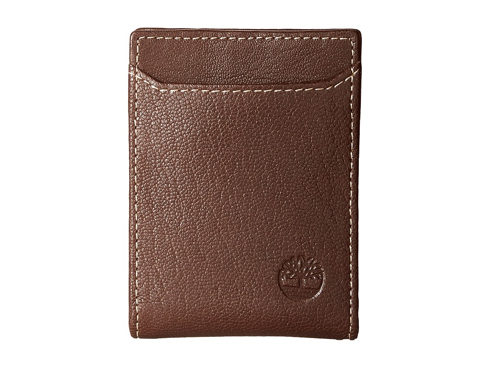 Timberland - Blix Flip Clip (Brown) Wallet Handbags