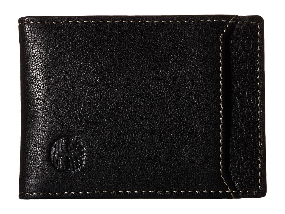 Timberland - Blix Flip Clip (Black) Wallet Handbags