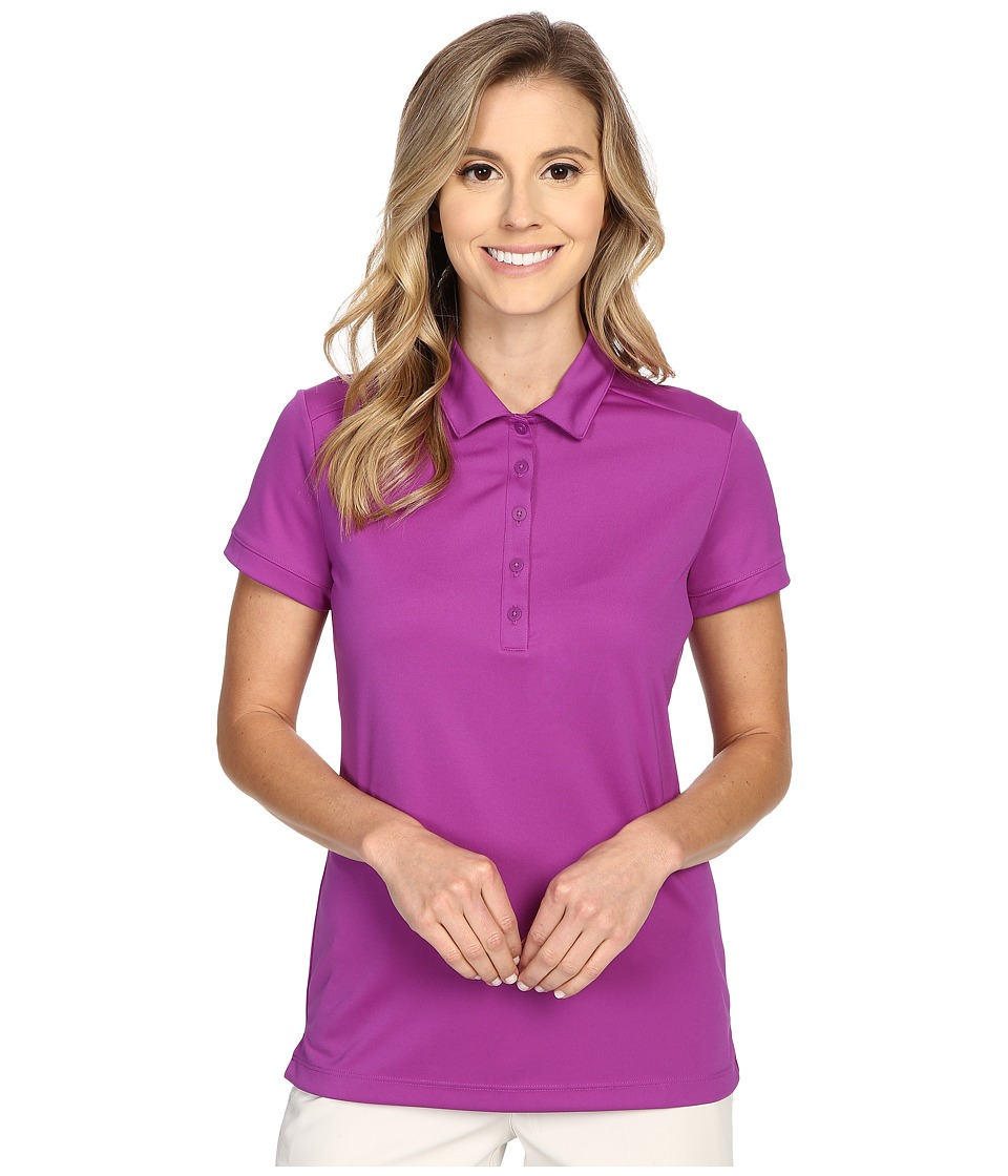 Nike Golf - Victory Solid Polo (Cosmic Purple/White) Women's Short Sleeve Pullover