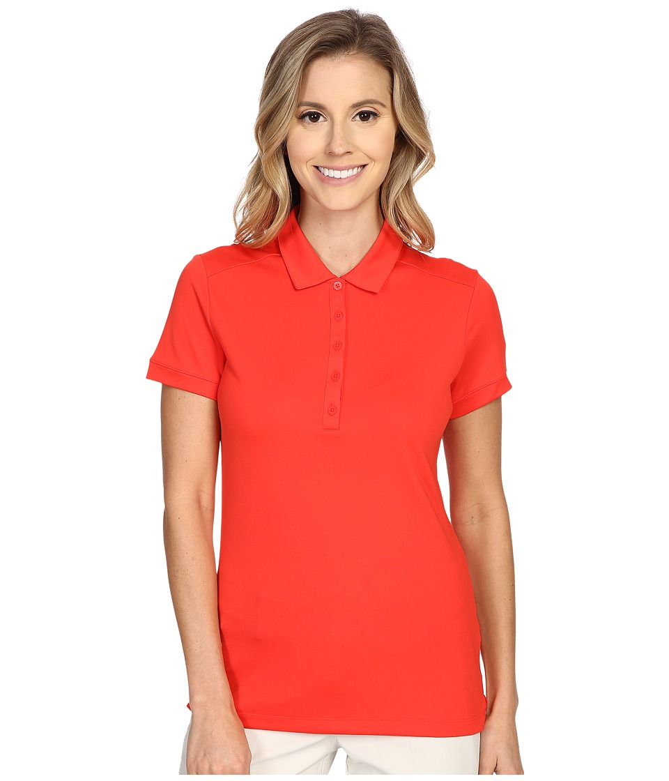 Nike Golf - Victory Solid Polo (Light Crimson/White) Women's Short Sleeve Pullover