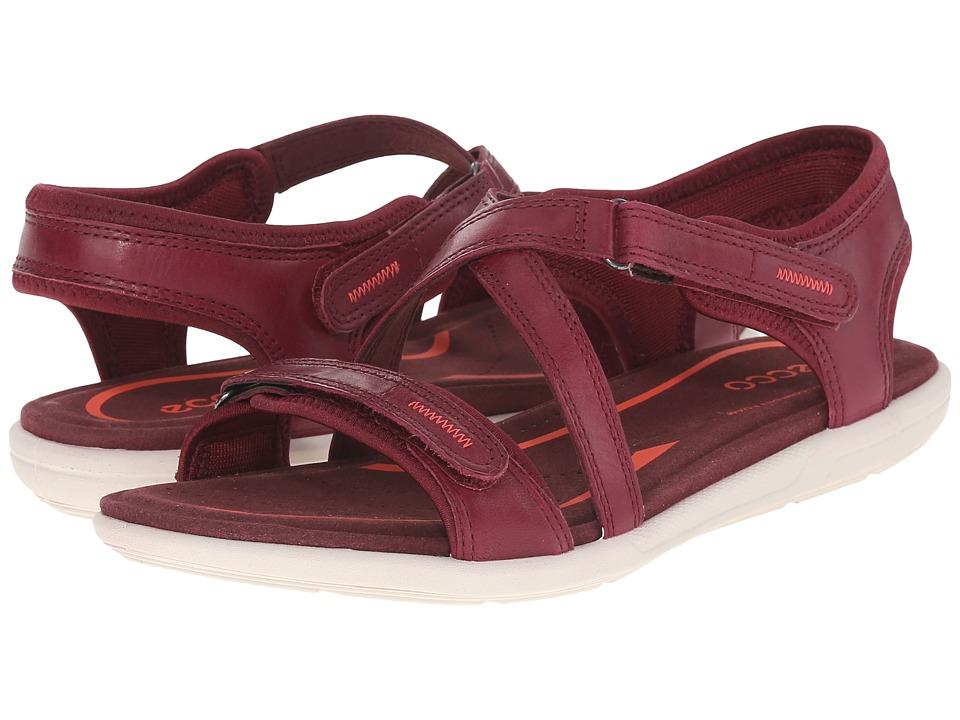 ECCO - Bluma Strap Sandal (Morillo) Women's Sandals
