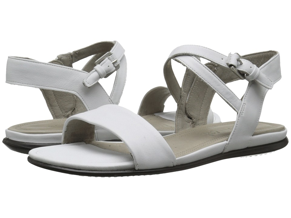 ECCO - Touch Ankle Sandal (White) Women's Sandals