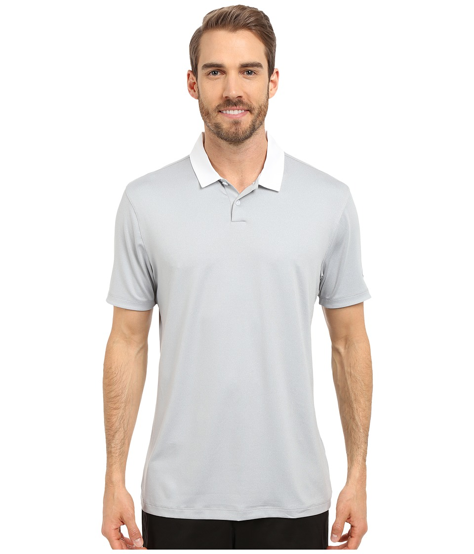 Nike Golf - Icon Heather Polo (Birch Heather/Black) Men's Short Sleeve Pullover