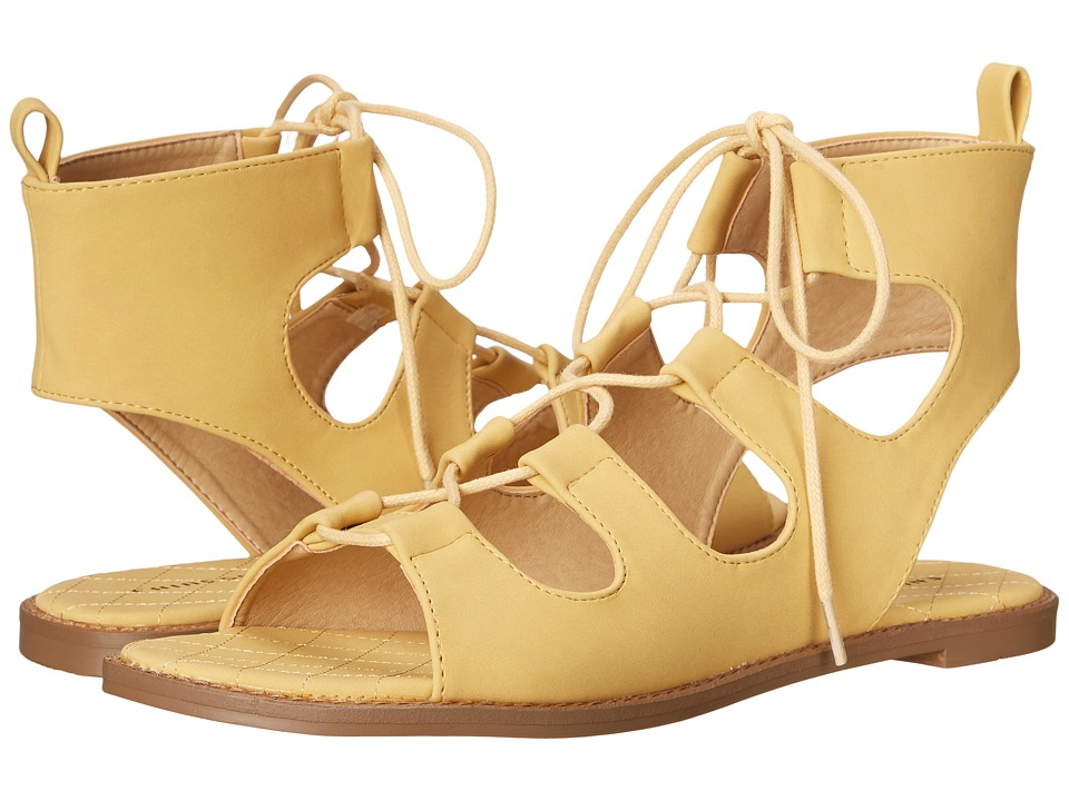 Chinese Laundry - Guess Who (Yellow Nubuck) Women's Shoes