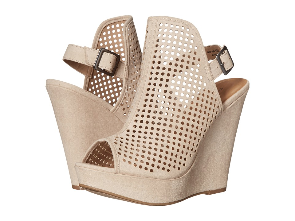 Chinese Laundry - Magnolia (Sand Micro Suede) Women's Wedge Shoes