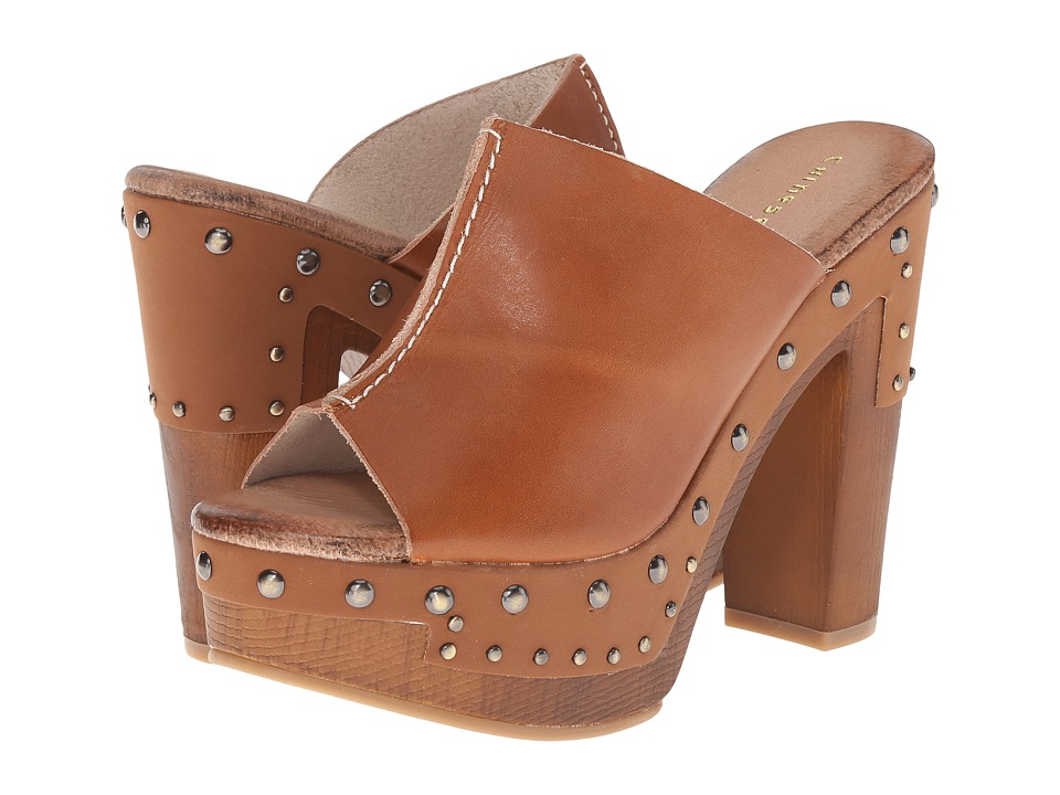 Chinese Laundry Chamomile (Cognac Buff Leather) High Heels