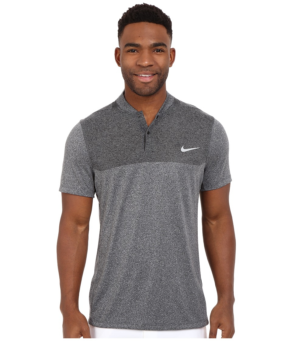 Nike Golf - Momentum Flex Knit Polo (Black/Reflective Silver) Men's Short Sleeve Pullover
