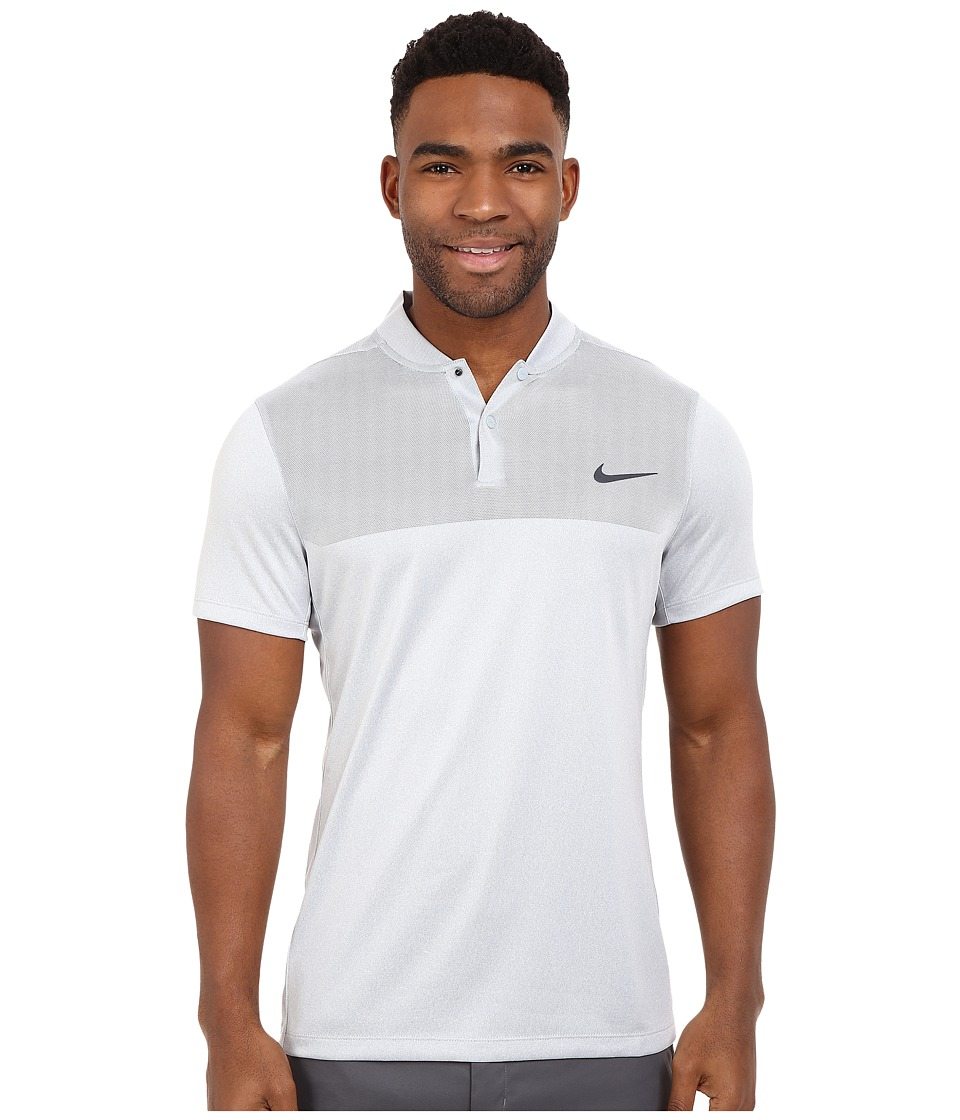 Nike Golf - Momentum Flex Knit Polo (Wolf Grey/Reflective Silver) Men's Short Sleeve Pullover