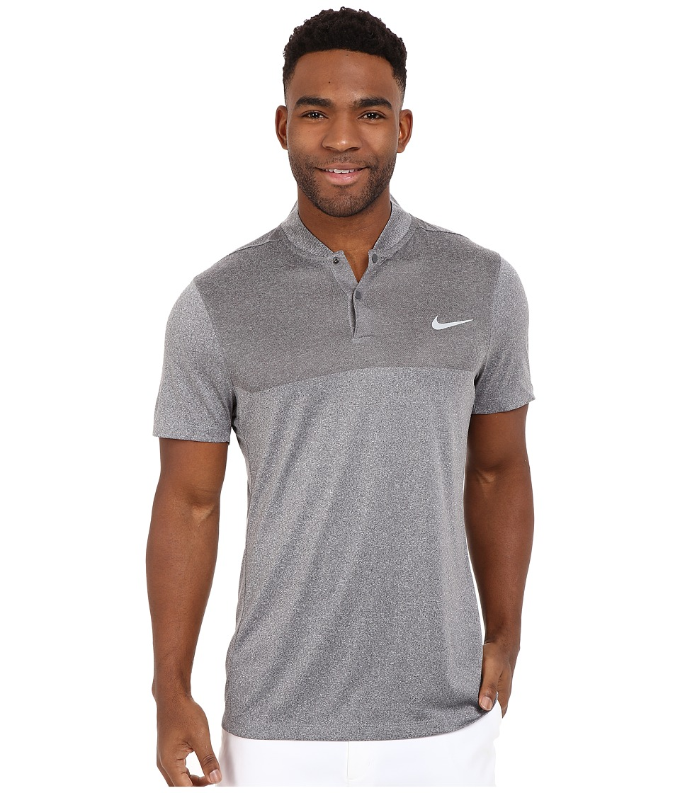 Nike Golf - Momentum Flex Knit Polo (Dark Grey/Reflective Silver) Men's Short Sleeve Pullover