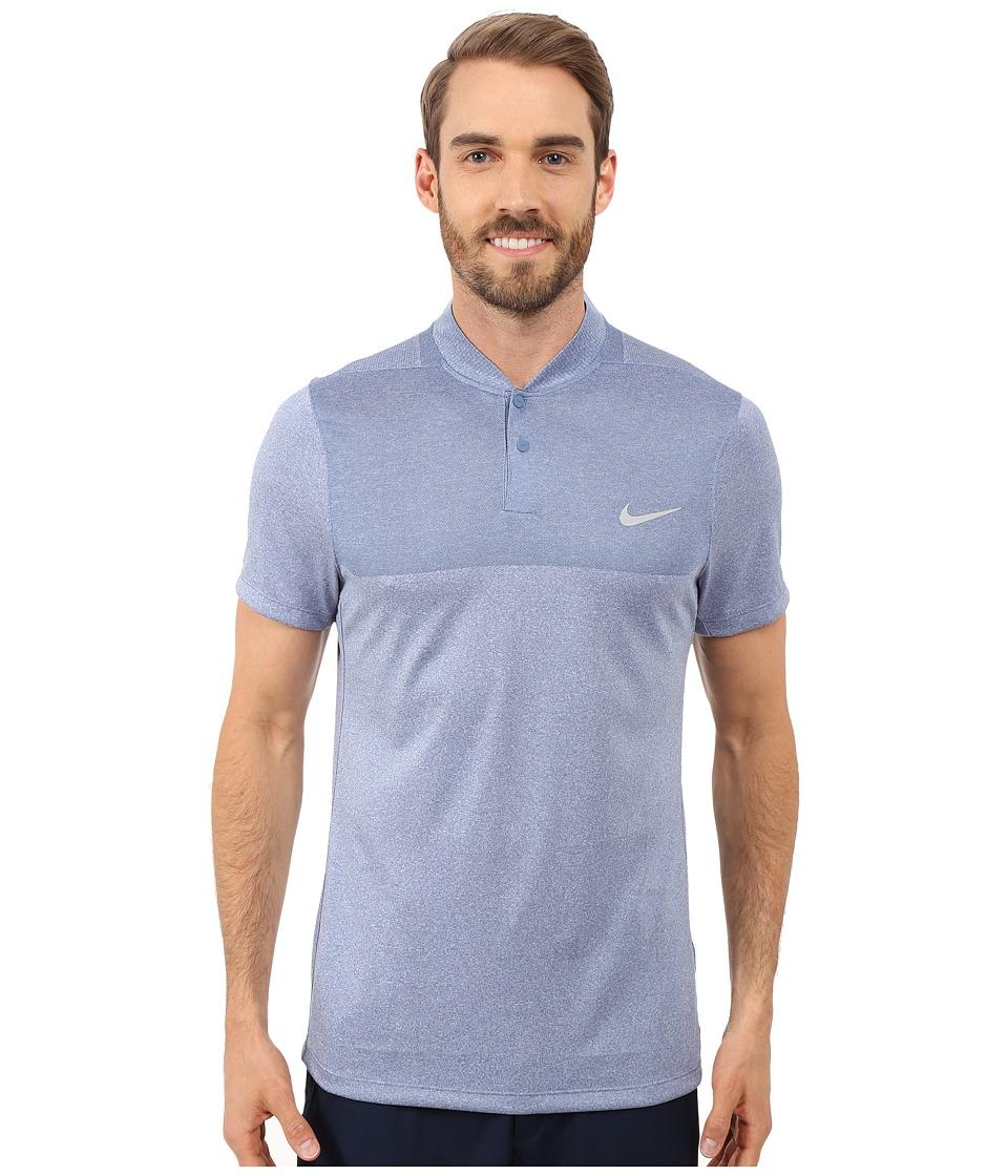 Nike Golf - Momentum Flex Knit Polo (Ocean Fog/Reflective Silver) Men's Short Sleeve Pullover