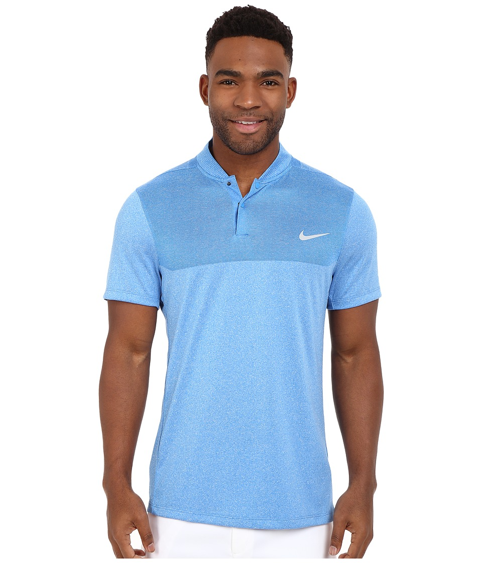 Nike Golf - Momentum Flex Knit Polo (Photo Blue/Reflective Silver) Men's Short Sleeve Pullover