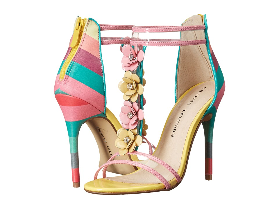 Chinese Laundry - Lexie (Pink Multi Stripe) High Heels