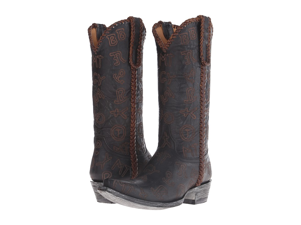Old Gringo - Branded (Black) Cowboy Boots