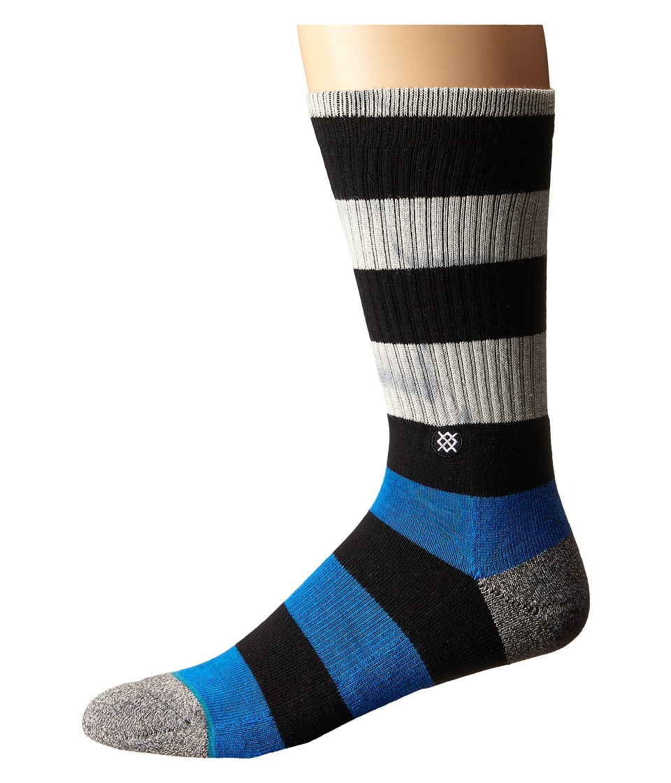 Stance - Moulton (Grey) Men's Crew Cut Socks Shoes