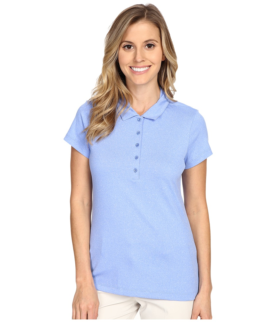 Nike Golf - Precision Jacquard Polo (Chalk Blue/Metallic Silver) Women's Short Sleeve Pullover