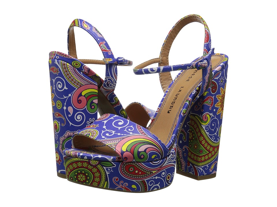 Chinese Laundry - Abie (Blue Paisley) High Heels