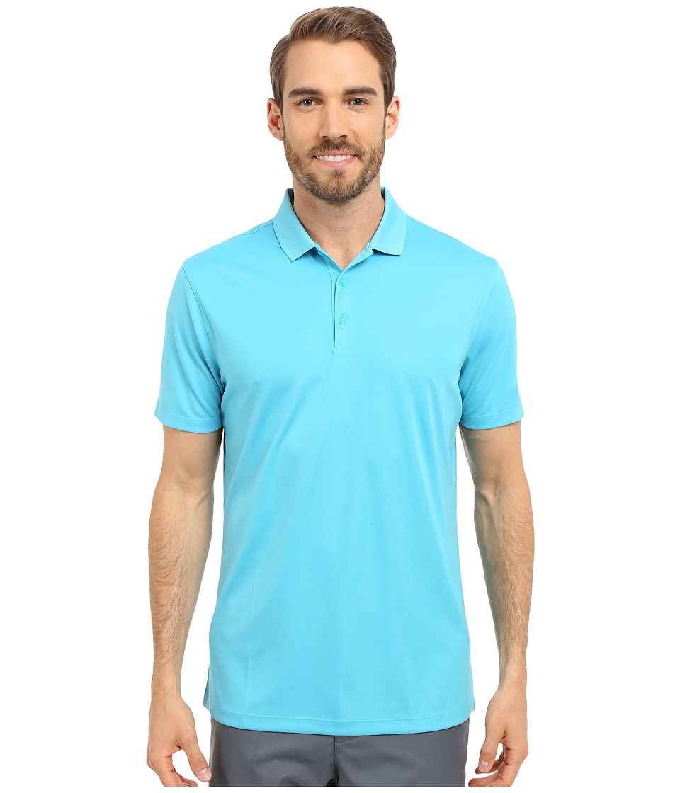 Nike Golf - Victory Solid Polo (Omega Blue/White) Men's Short Sleeve Pullover