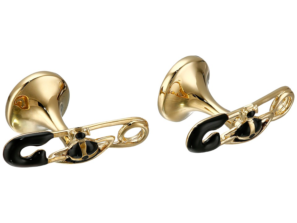 Vivienne Westwood - James Cufflinks (Black) Cuff Links