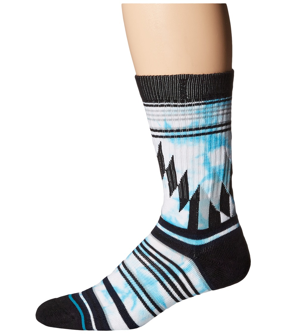 Stance - Prestige (Blue) Men's Crew Cut Socks Shoes