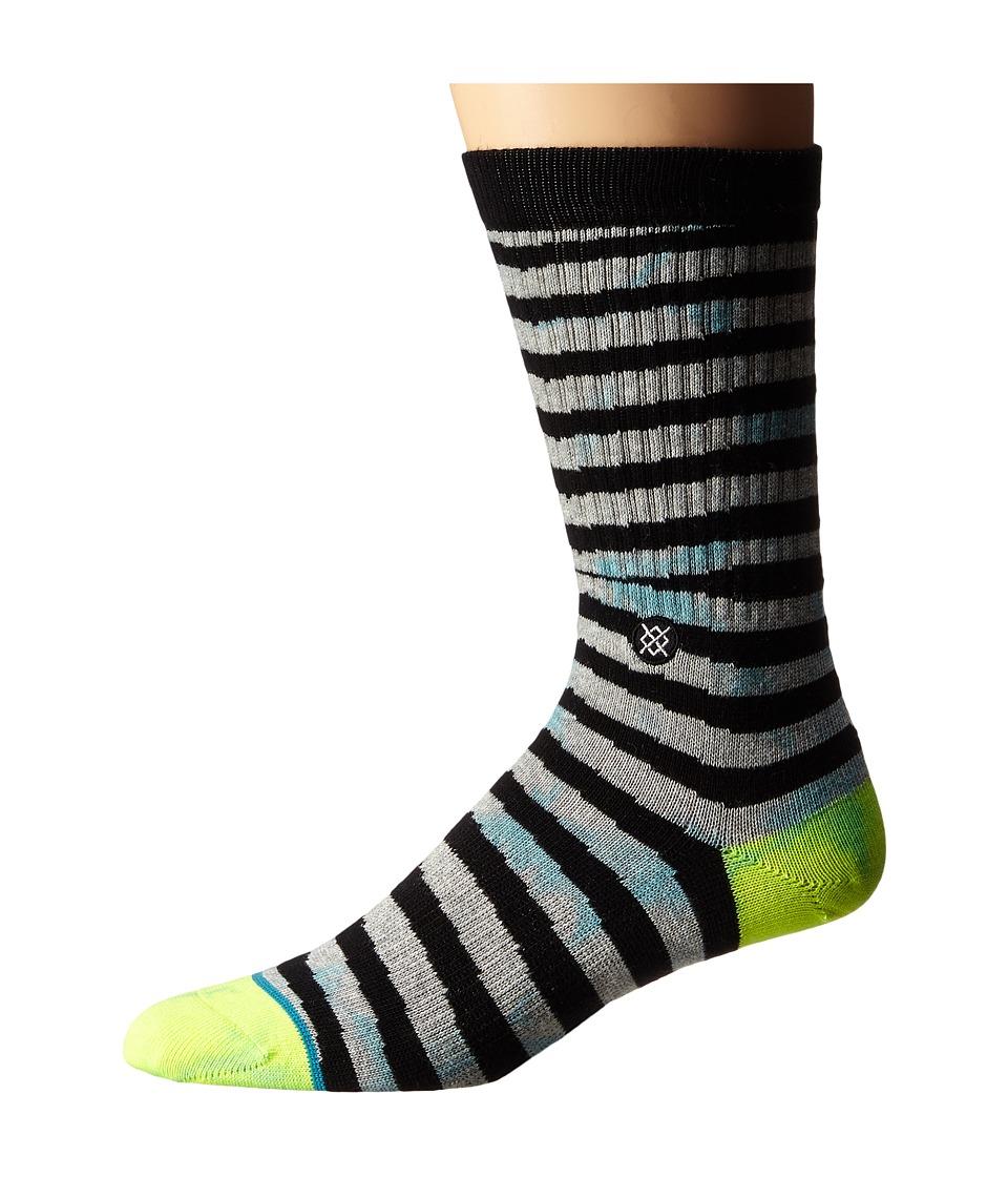 Stance - Scalpe (Blue) Men's Crew Cut Socks Shoes