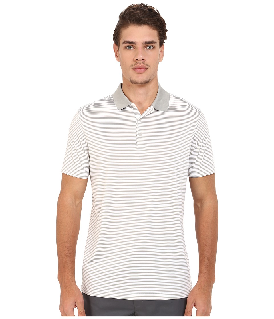 Nike Golf - Victory Mini Stripe Polo (Blue/Grey/White/White) Men's Short Sleeve Pullover