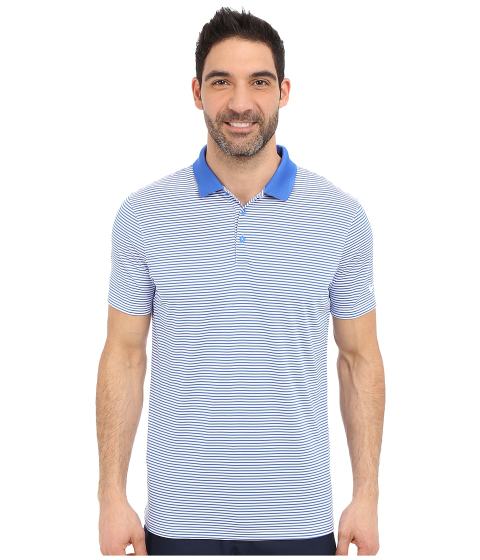 Nike Golf - Victory Mini Stripe Polo (Hyper Cobalt/White/White) Men's Short Sleeve Pullover