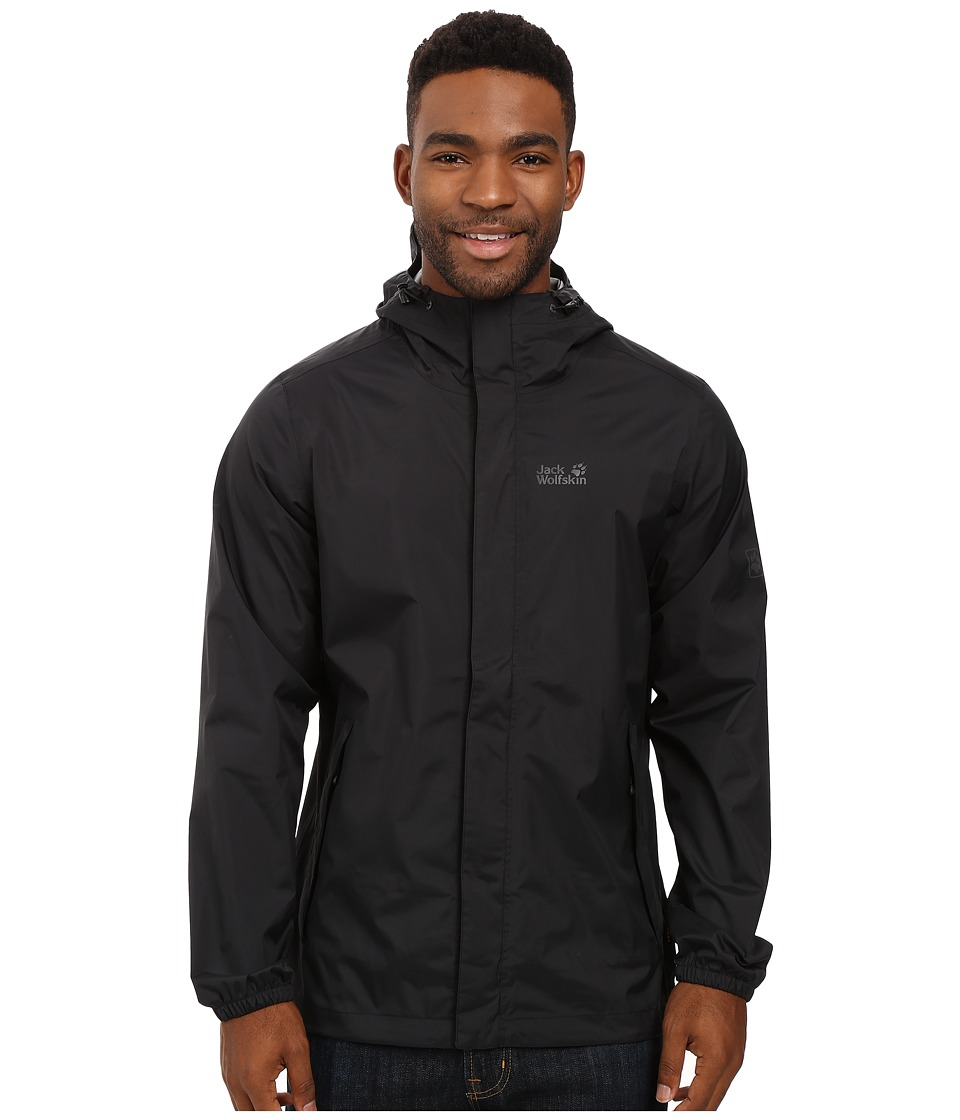 Jack Wolfskin - Cloudburst Jacket (Black) Men's Coat