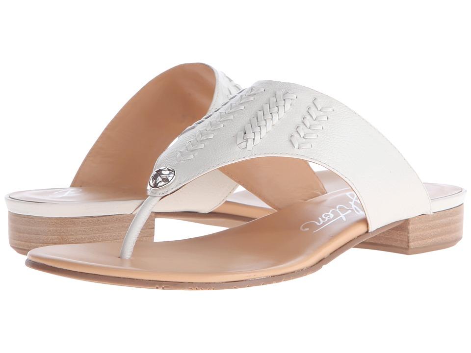 Brighton - Norma (White Madras/Vegetal) Women's Sandals