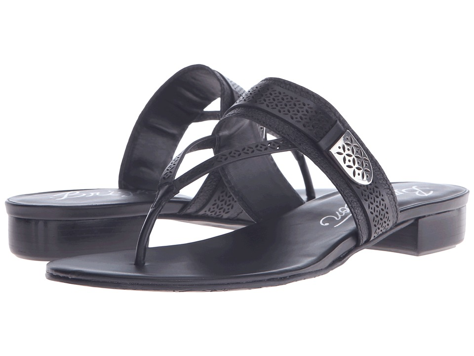 Brighton - Nova (Black Vegetal/Granola) Women's Sandals