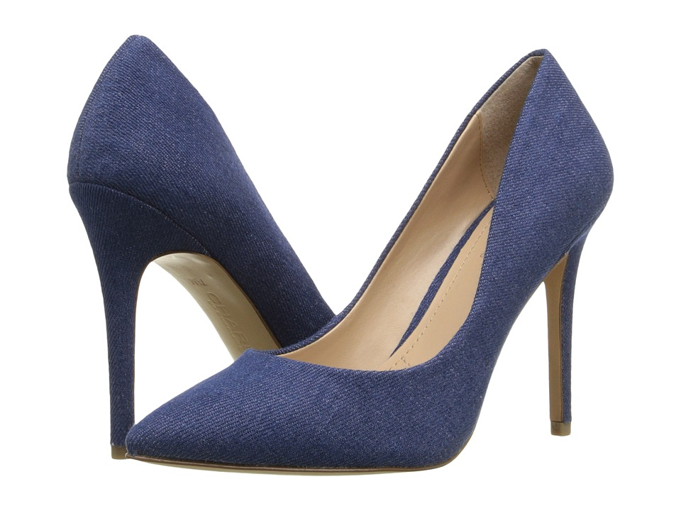 Charles by Charles David - Pact (Lagoon Denim Fabric) High Heels