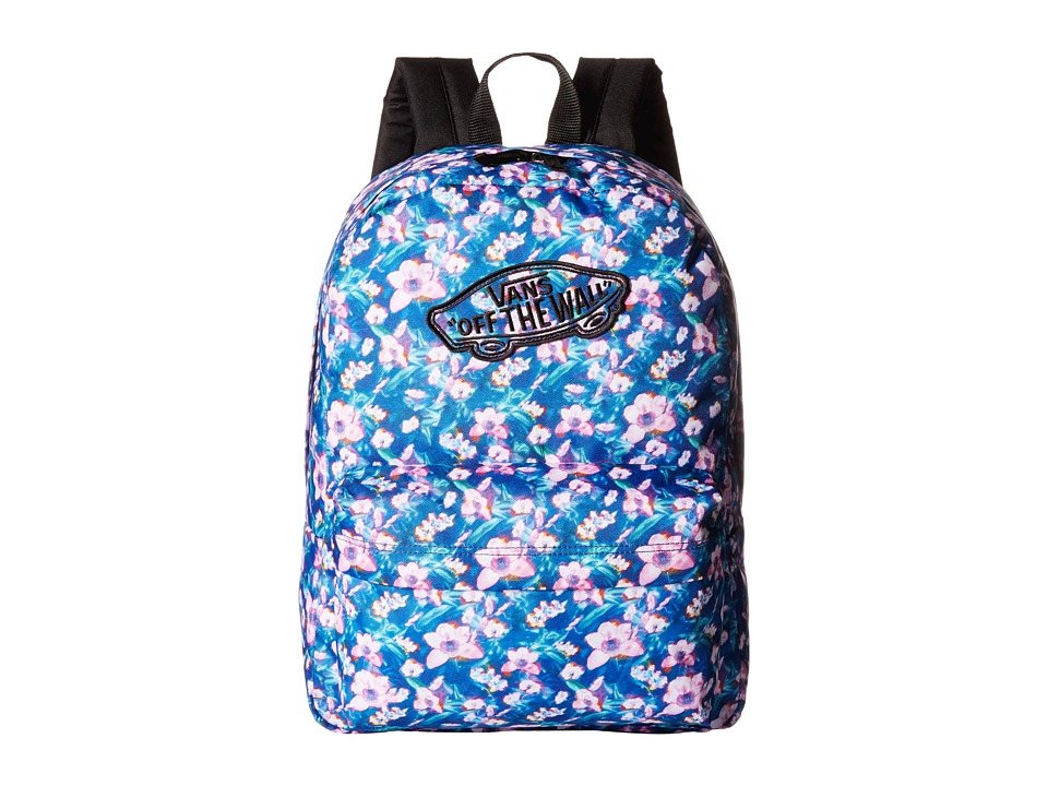 4fa44d0cef ... UPC 706420191006 product image for Vans - Realm Backpack ((Blurred  Floral) Poseidon  ...
