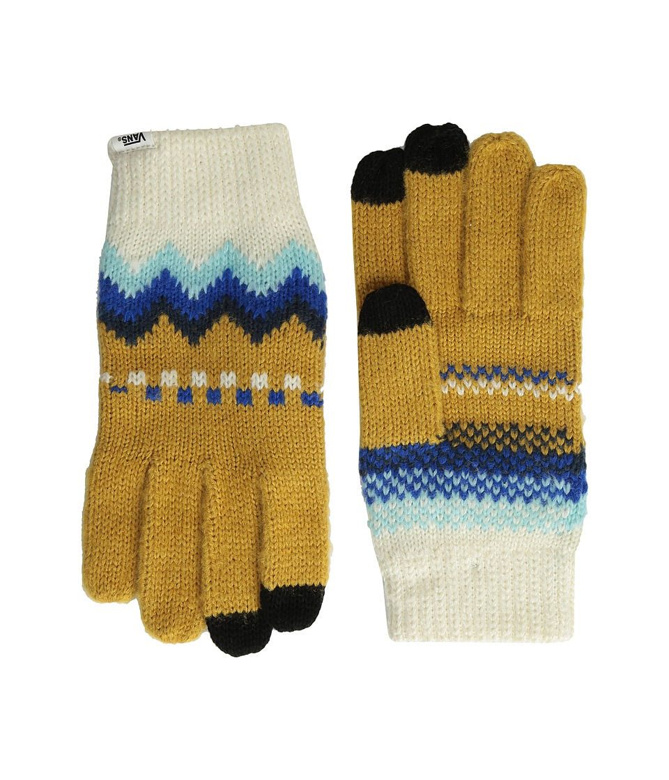 Vans - Zagger Gloves (Spruce Yellow) Extreme Cold Weather Gloves