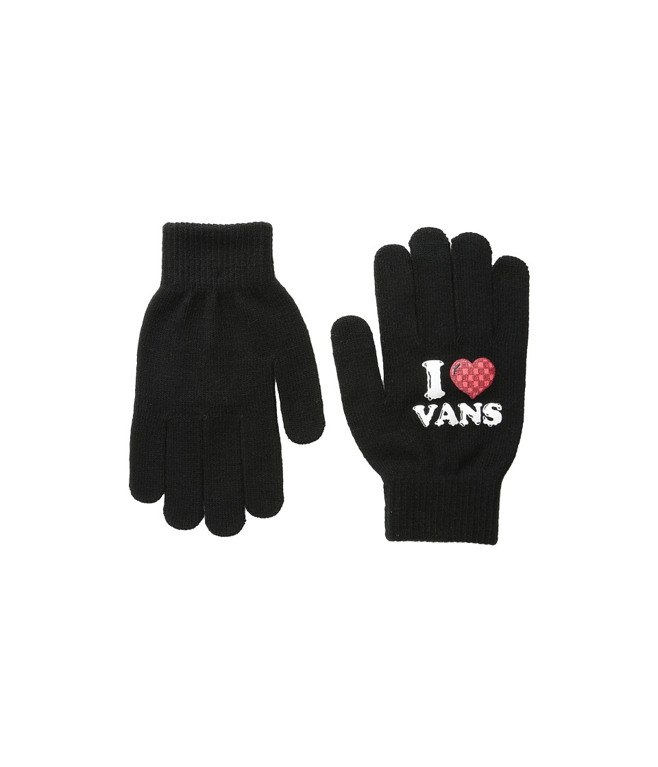 Vans - I Heart Vans Gloves (Black) Extreme Cold Weather Gloves