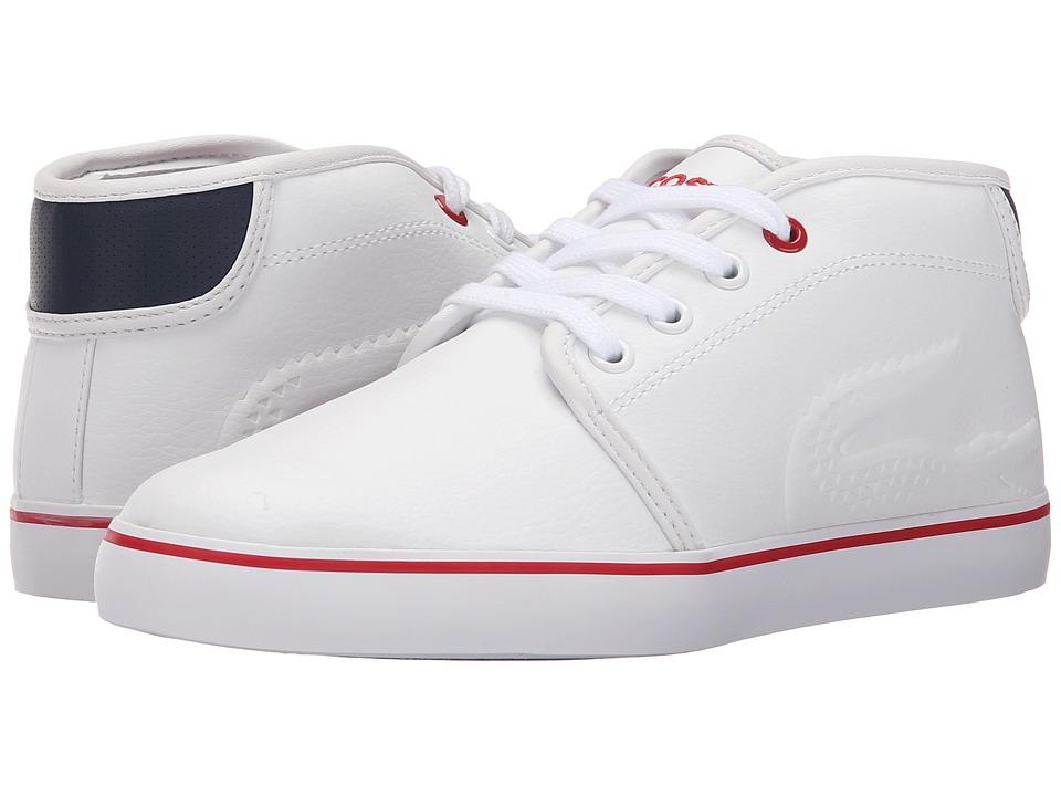 Lacoste Kids - Ampthill 116 1 SP16 (Little Kid) (White) Kid's Shoes
