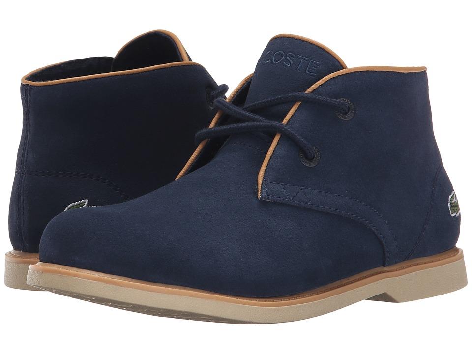 Lacoste Kids - Sherbrooke 116 1 SP16 (Little Kid) (Navy) Boy's Shoes