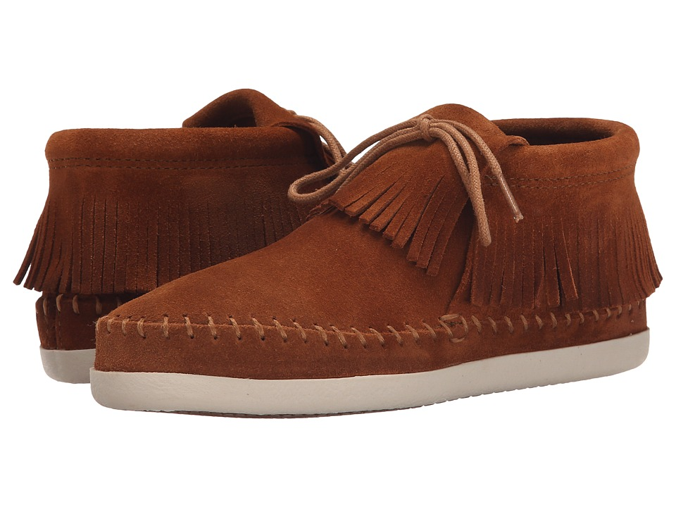 Minnetonka Venice (Brown Suede) Women