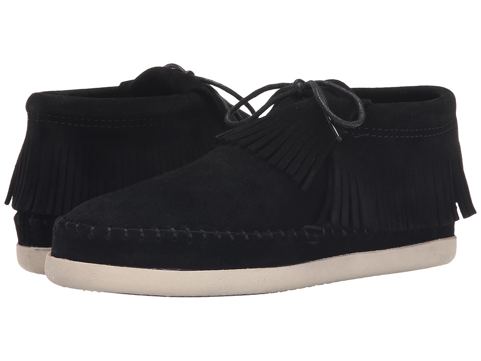 Minnetonka Venice (Black Suede) Women