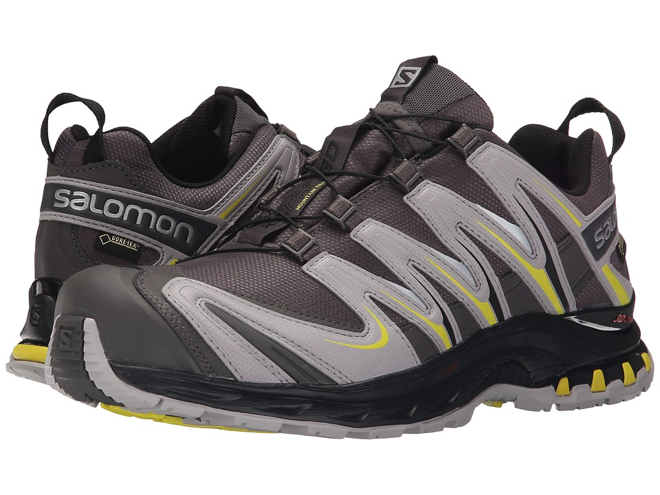Salomon - XA Pro 3D GTX (Autobahn/Aluminium/Corona Yellow) Men's Shoes