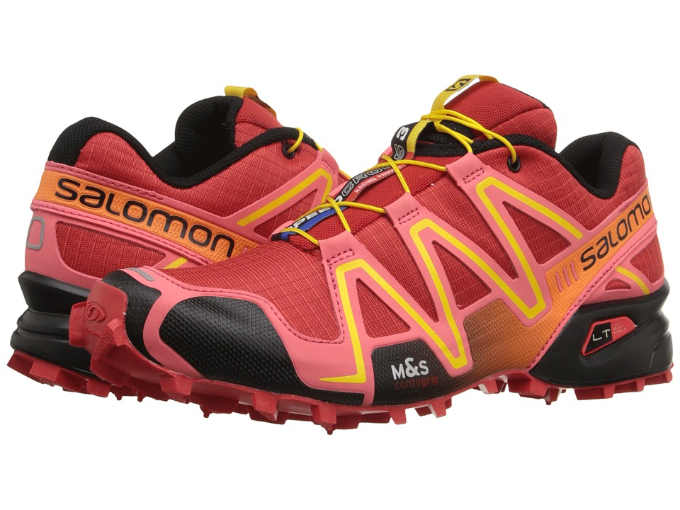 Salomon - Speedcross 3 (Radiant Red/Madder Pink/Corona Yellow) Women
