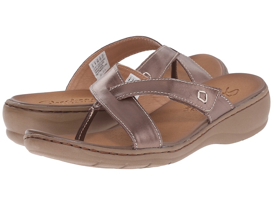 SKECHERS - Passenger - Vacationer (Bronze) Women's Sandals
