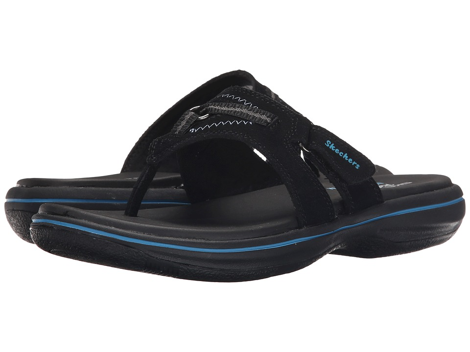 SKECHERS - Bayshore - Paddle (Black) Women's Sandals