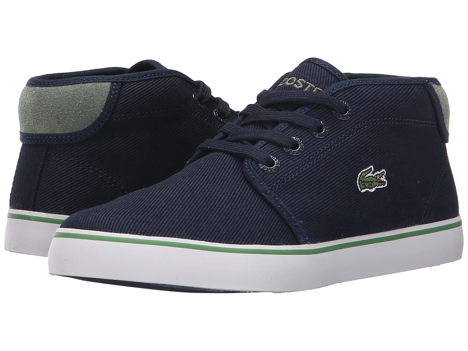 Lacoste Kids - Ampthill 116 1 SP16 (Little Kid) (Navy) Kid's Shoes
