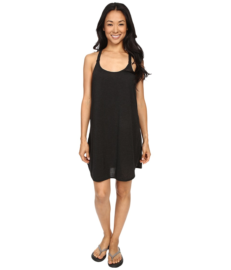 TYR - Solids Layback Dress (Black) Women's Dress