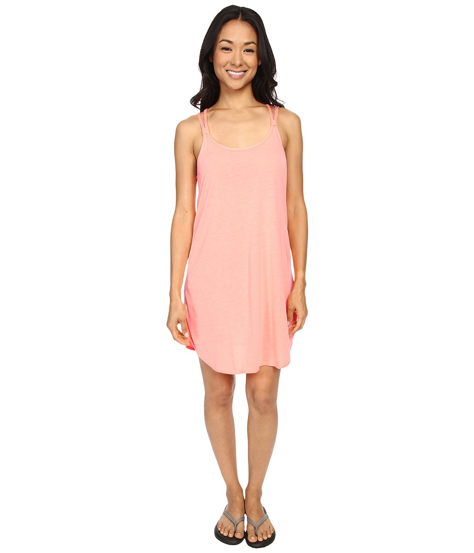 TYR - Solids Layback Dress (Coral) Women's Dress