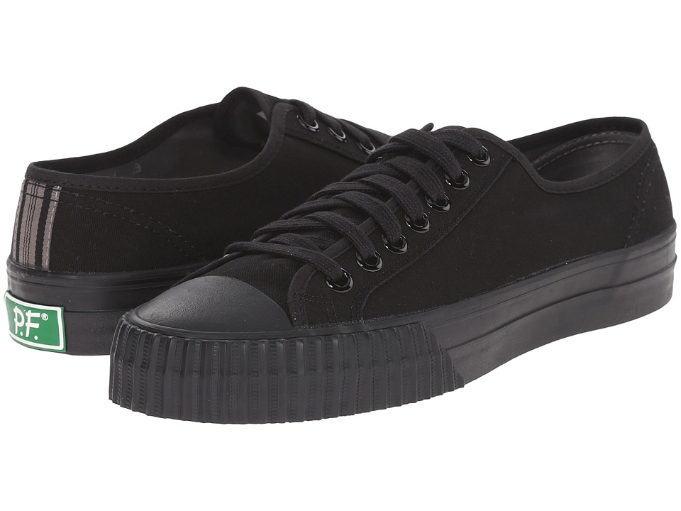 PF Flyers - Center Lo (Black Canvas 1) Men's Shoes
