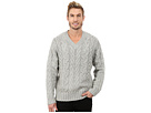 DKNY Jeans Long Sleeve Lux Cable V-Neck Sweater