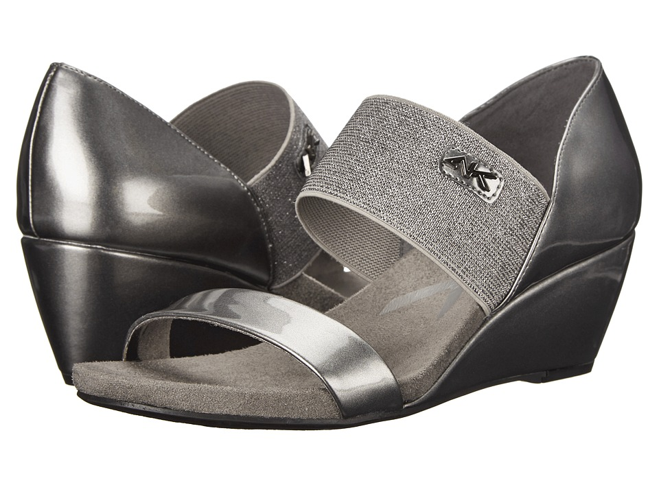 Anne Klein - Cailina (Pewter/Pewter Synthetic) Women's Wedge Shoes